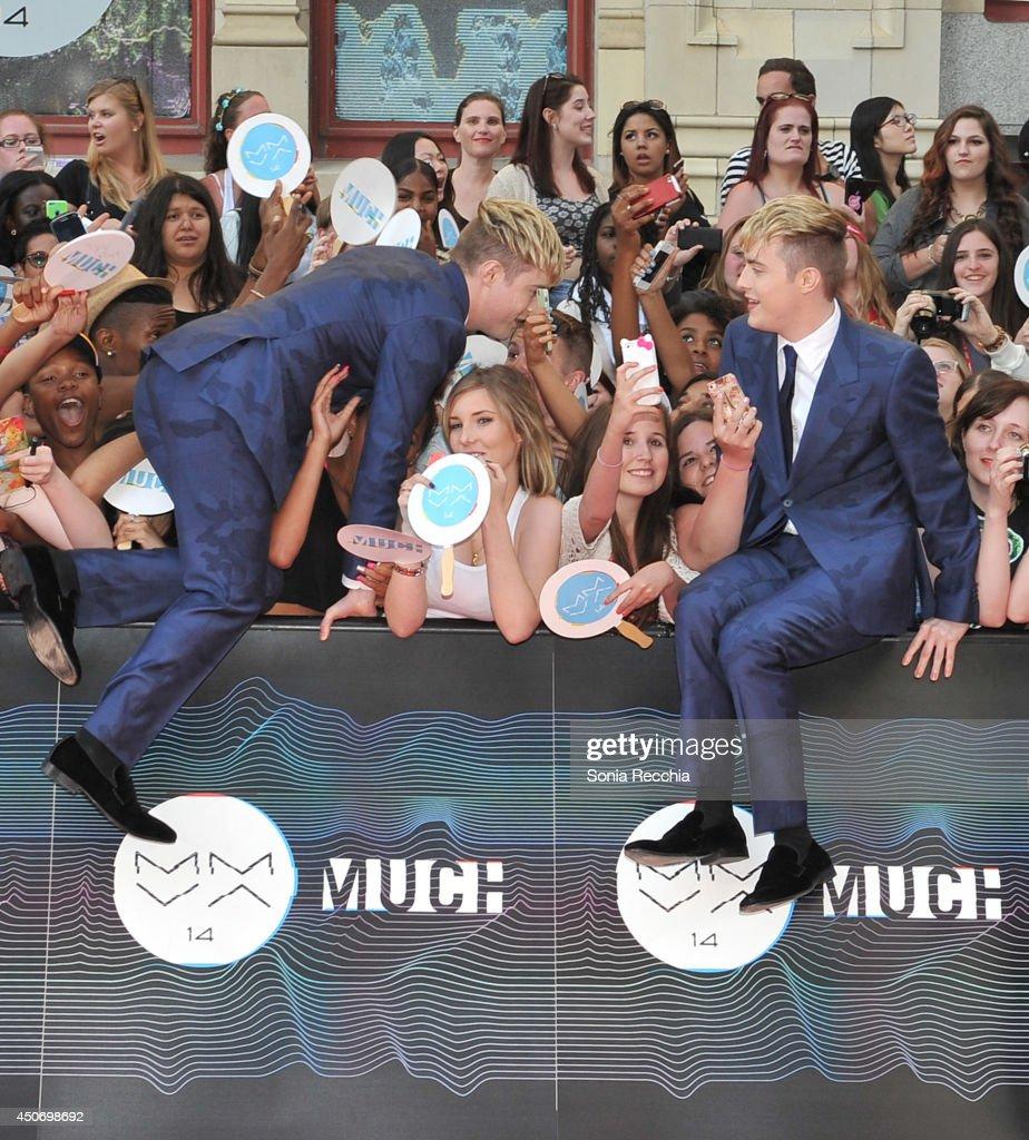 2014 MuchMusic Video Awards - Press Room : News Photo