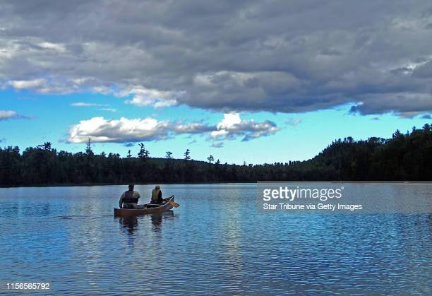 John and Jodi Weyrauch of Stillwater paddled on Moon Lake in the Boundary Waters Canoe Area Wilderness. They had portaged from East Bearskin Lake for...