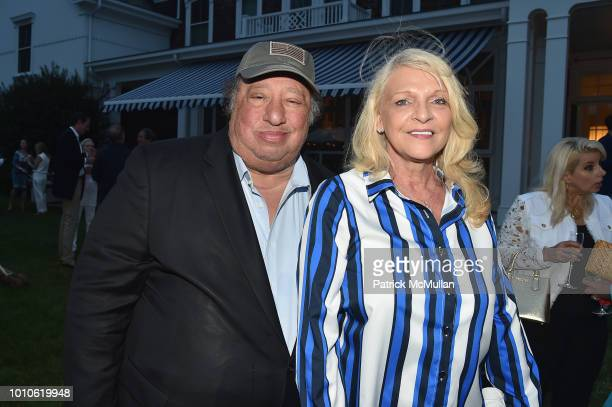 John and Margo Catsimatidis attend the Rita Hayworth Gala Hamptons Kickoff Event hosted by Alzheimer's Association at Private Residence on August 3...