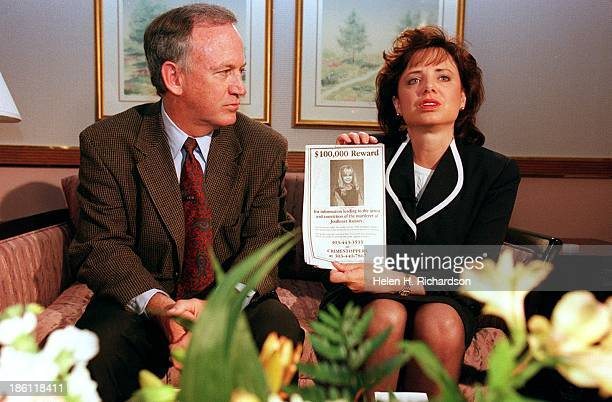 John and Patsy Ramsey the parents of JonBenet Ramsey meet with a small selected group of the local Colorado media after four months of silence in...