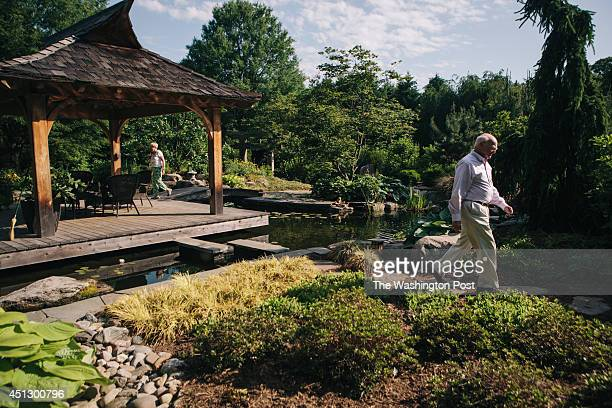 John and Toby Mattingly have created what could be considered a secret garden in the back yard of their fiveacre property in Darnestown Maryland