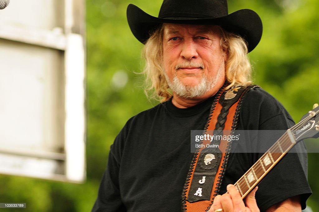 John Anderson performs at the 2010 Puddle-Palooza festival at Yogi Bear Jellystone Park on August 21, 2010 in Nashville, Tennessee.