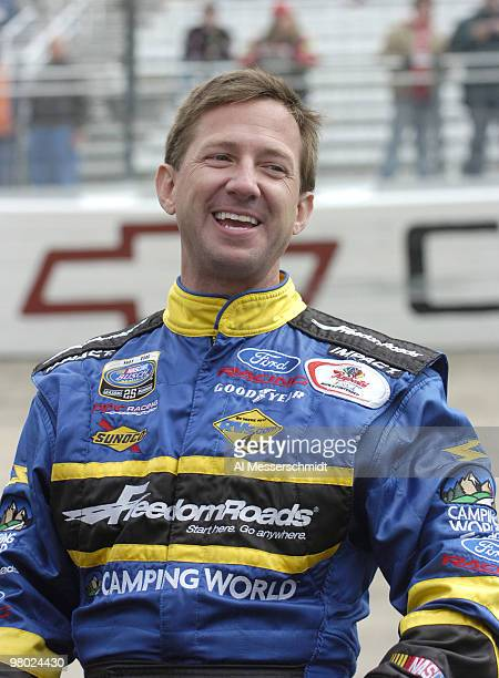 John Andretti in the Sharpie Mini 300 Busch Series race at Bristol Motor Speedway in Bristol Tennessee on March 25 2006