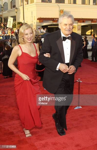 John Aniston and guest during The 29th Annual People's Choice Awards Arrivals at Pasadena Civic Auditorium in Pasadena California United States