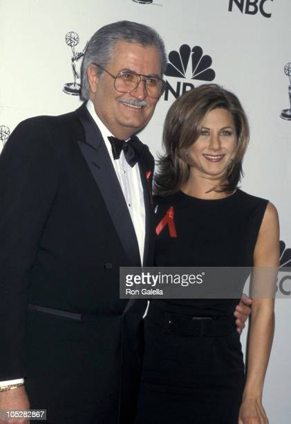 John Aniston and Jennifer Aniston during 22nd Annual Daytime Emmy Awards at Marriott Marquis Hotel in New York City New York United States