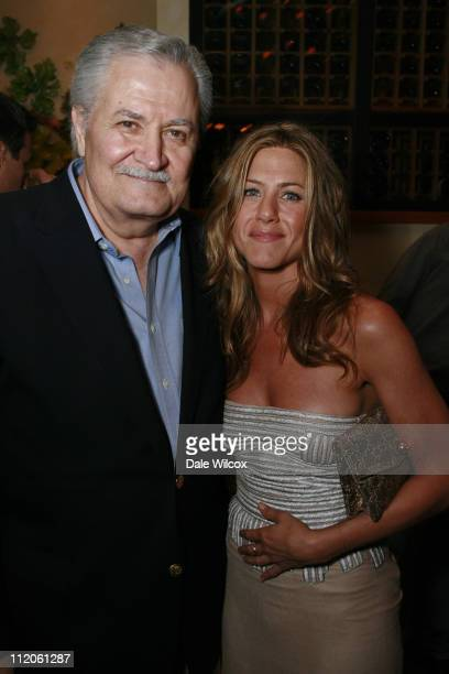 John Aniston and Jennifer Aniston during The Break Up Los Angeles Premiere After Party in Los Angeles California United States