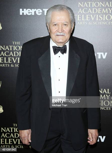John Aniston arrives at the 41st Annual Daytime Emmy Awards held at The Beverly Hilton Hotel on June 22 2014 in Beverly Hills California