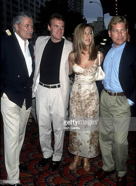 John Aniston Tate Donovan Jennifer Aniston and brother John Melick