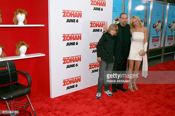John Anthony DeJoria John Paul DeJoria and Eloise DeJoria attend Special Screening of You Don't Mess With The Zohan at Ziegfeld Theater on June 4...