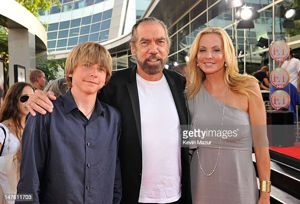 John Anthony Dejoria Stylist John Paul Dejoria and wife Eloise Dejoria arrives on the red carpet for the Los Angeles premiere of Funny People held at...