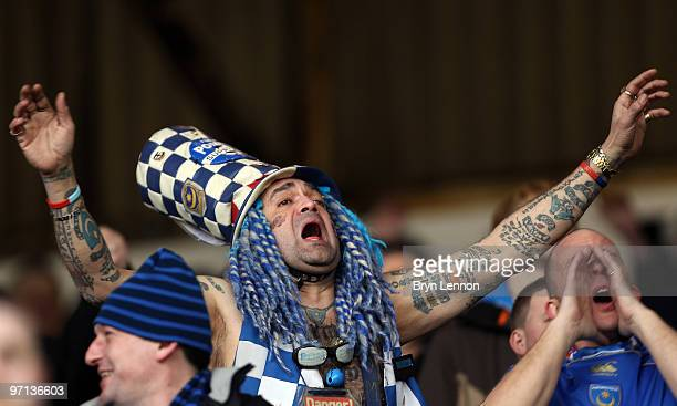 John Anthony Portsmouth Football Club Westwood sings during the Barclays Premier League match between Burnley and Portsmouth at Turf Moor on February...