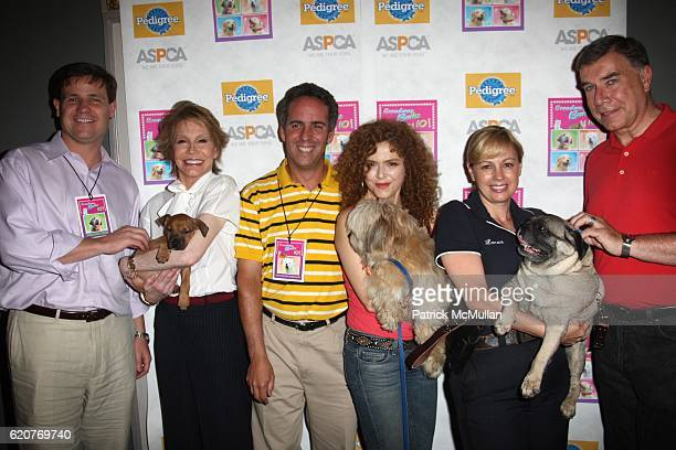 John anton Mary Tyler Moore Geoff Brown Bernadette Peters Anne Marie Lucas and Ed Sayres attend A PAWPULAR StarStudded Dog and Cat AdoptAThon...