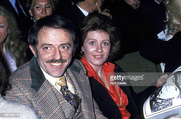 John Astin and Patty Duke during Hedda Gabler Los Angeles Premiere at Huntington Hartford Theater in Hollywood California United States