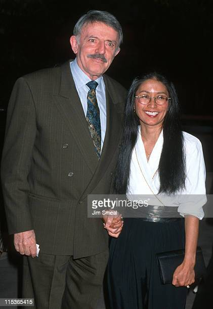 John Astin and Valerie Ann Sandobal during 'The Nutty Professor' Los Angeles Benefit Premiere at Universal Studios Amphiteatre in Universal City...