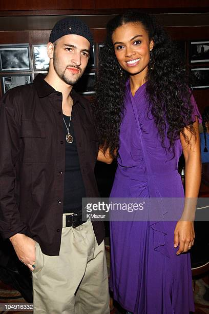 John B Amel Larrieux during Red Star Sounds Vol 1 Album Release Party at BB King Blues Club Grill in New York City New York United States