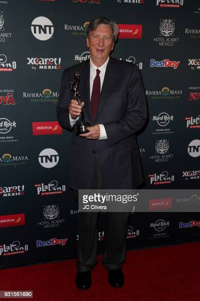 John Bailey attends the 5th Annual Premios PLATINO Of Iberoamerican Cinema Nominations Announcement at Hollywood Roosevelt Hotel on March 13 2018 in...