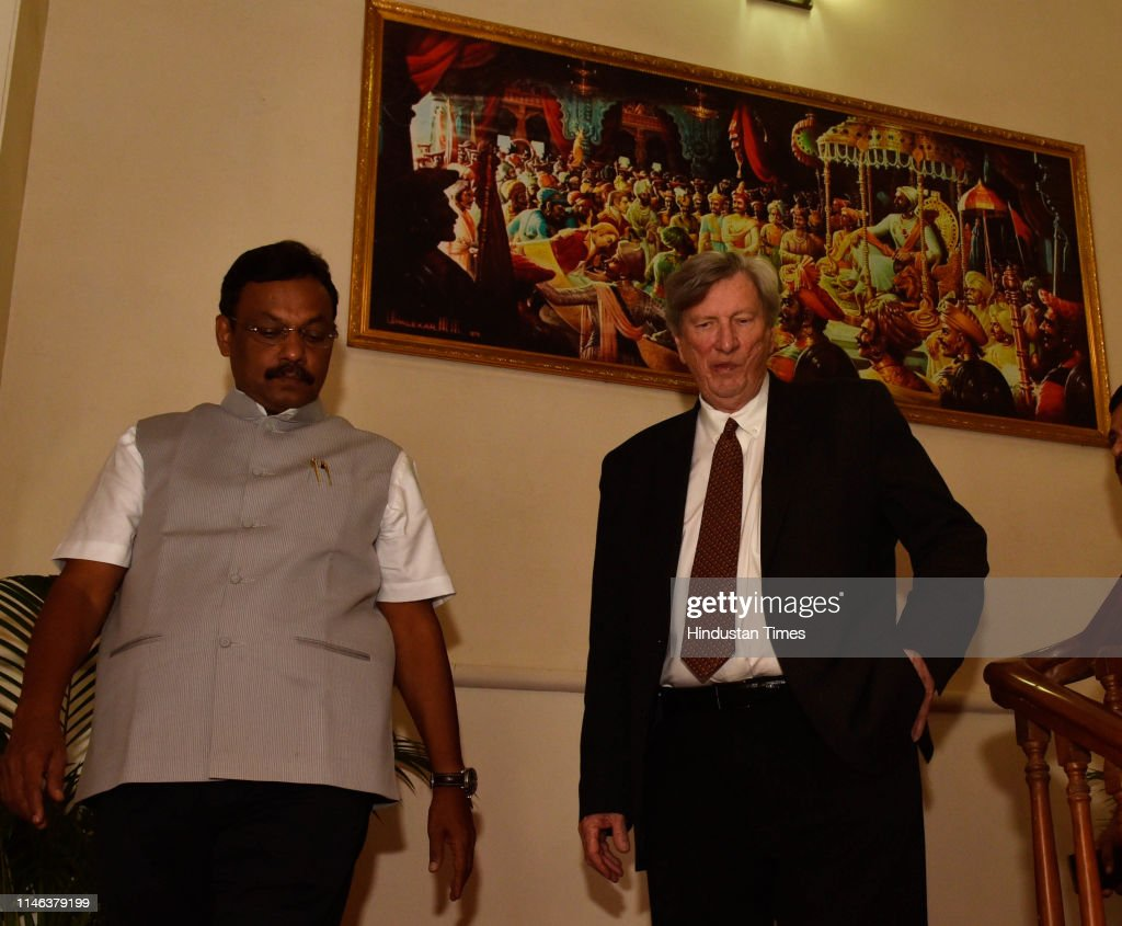 IND: Academy Of Motion Picture Arts And Science Chairman John Bailey Visits Mumbai