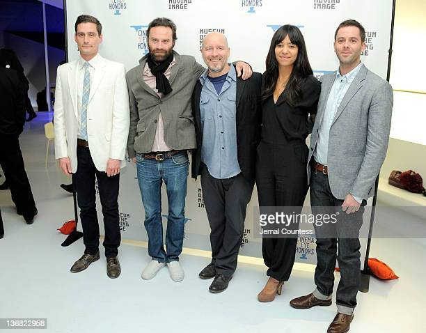 John Baker Tristan Patternson Todd Griffin Jennifer Tiexiera and Eric Kortez attend the 5th Annual Cinema Eye Honors for Nonfiction Filmmaking at the...