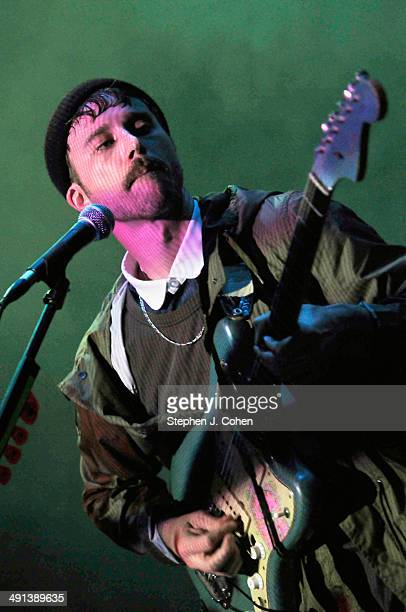 John Baldwin Gourley of Portugal. The Man performs at The Brown Theatre on May 15, 2014 in Louisville, Kentucky.