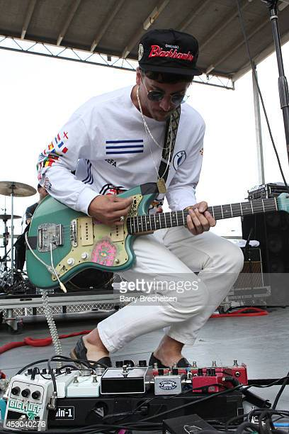 John Baldwin Gourley of Portugal. The Man performs at the Kidzapalooza stage during 2014 Lollapalooza Day One at Grant Park on August 1, 2014 in...