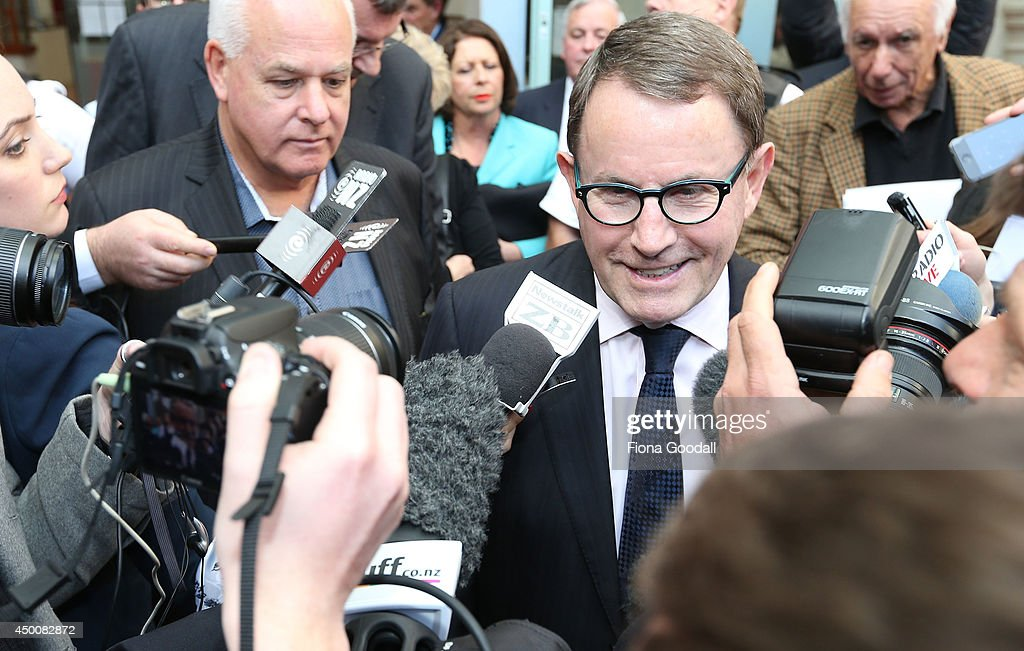 ACT MP John Banks Found Guilty Of Filing False Electoral Return : News Photo