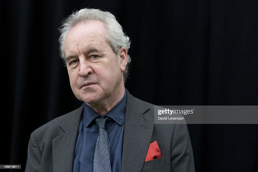 John Banville, Booker Prize winning writer, attends The Telegraph Hay festival at Dairy Meadows on May 26, 2013 in Hay-on-Wye, Wales.