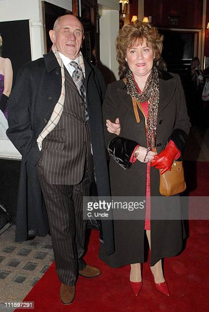 John Bardon during Guys And Dolls VIP performance Red Carpet Arrivals at Piccadilly Theatre in London Great Britain