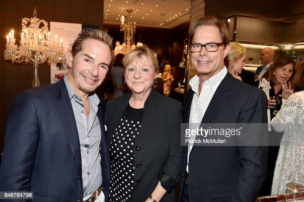 John Barman Carolyn Sollis Kelly Graham and Baccarat celebrates The French Style Issue with ELLE DECOR on September 13 2017 in New York City
