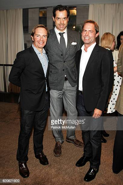 John Barman Guest and Kelly Graham attend ELLE DECOR CHRISTIE's Launch of THE CELERIE KEMBLE COLLECTION for SCHUMACHER with LEXUS at Christie's on...