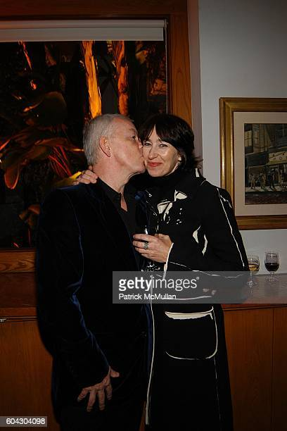 John Barrett and Jane Hill attend Vanity Fair Oscar Party at Morton's Restaurant on March 5 2006
