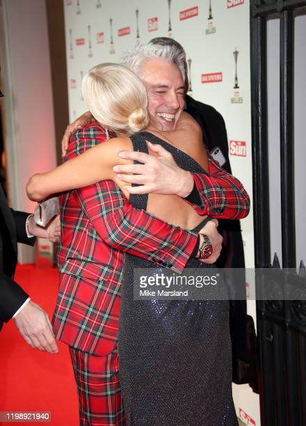 John Barrowman and Denise Van Outen attend The Sun Military Awards 2020 at Banqueting House on February 6 2020 in London England
