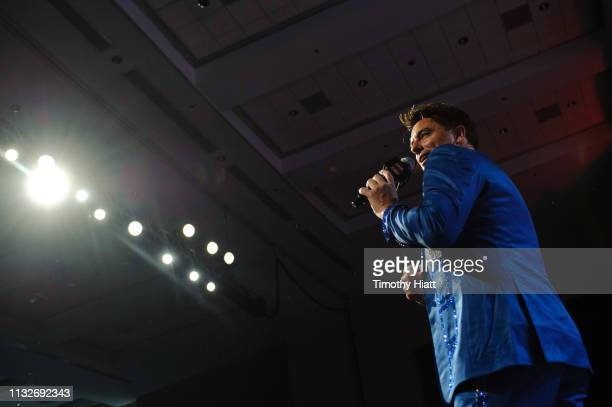 John Barrowman attends C2E2 Chicago Comic and Entertainment Expo on March 23 2019 in Chicago Illinois