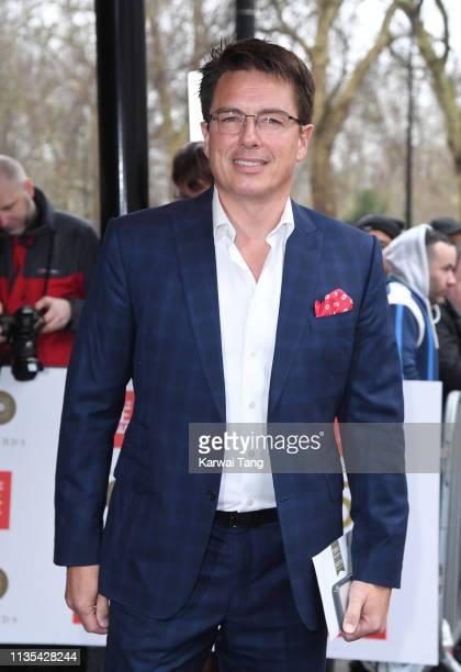 John Barrowman attends the 2019 'TRIC Awards' held at The Grosvenor House Hotel on March 12 2019 in London England