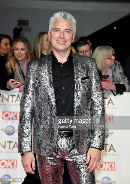 John Barrowman attends the National Television Awards 2020 at The O2 Arena on January 28 2020 in London England