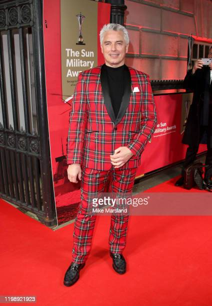 John Barrowman attends The Sun Military Awards 2020 at Banqueting House on February 6 2020 in London England