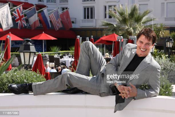 John Barrowman attends the 'Torchwood' photocall during the MIPTV 2011 at Hotel Majestic on April 5 2011 in Cannes France