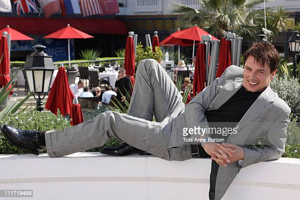 John Barrowman attends Torchwood Photocall at the Majesctic Hotel on April 5 2011 in Cannes France