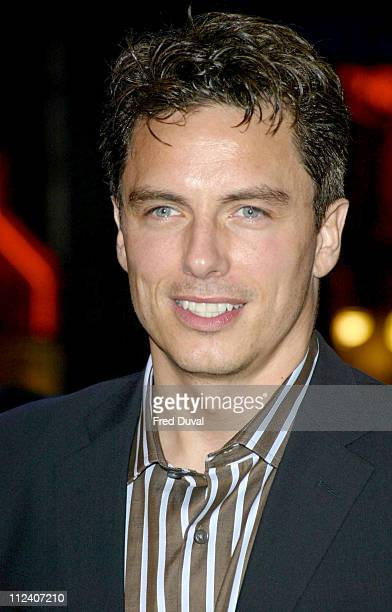 John Barrowman during DeLovely London Premiere Arrivals at Empire Leicester Square in London Great Britain