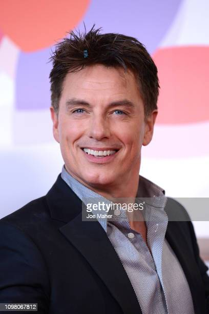 John Barrowman poses in the winners room during the National Television Awards held at The O2 Arena on January 22 2019 in London England