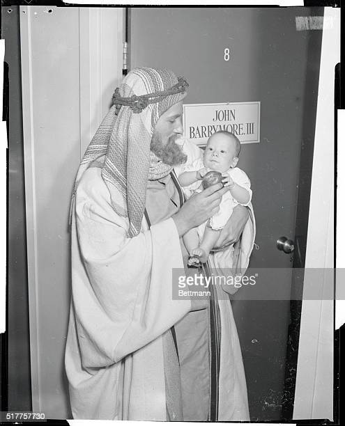 John Barrymore III four month old son of John Barrymore Jr carries on a long family tradition as he makes his acting debut as the young Moses found...