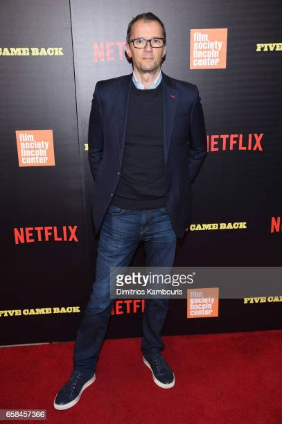 John Battsek attends the Five Came Back world premiere at Alice Tully Hall at Lincoln Center on March 27 2017 in New York City