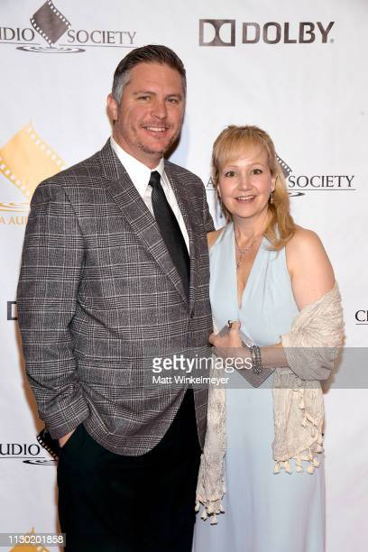 John Bauman and Cindy Bauman attend the 55th Annual Cinema Audio Society Awards at InterContinental Los Angeles Downtown on February 16 2019 in Los...