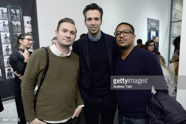 John Beasley and guests attend Robert Whitman Presents Prince 'Pre Fame' Private Viewing Event Exclusively On Vero on December 14 2017 in New York...