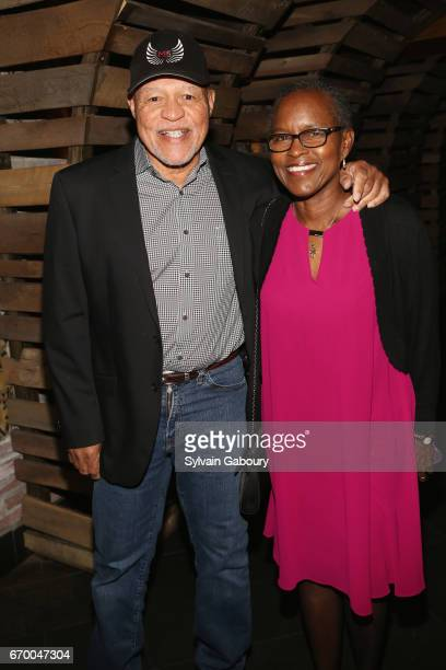 John Beasley and Judy Beasley attend The Immortal Life Of Henrietta Lacks New York Premiere After Party at TAO Downtown on April 18 2017 in New York...
