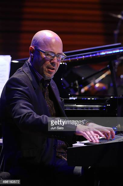 John Beasley performs during Kawasaki Jazz on November 21 2015 in Kawasaki Japan