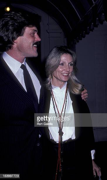 John Beck and wife Tina Beck attend the party for Stella Stevens on February 21 1981 at Chasen's Restaurant in Beverly Hills California