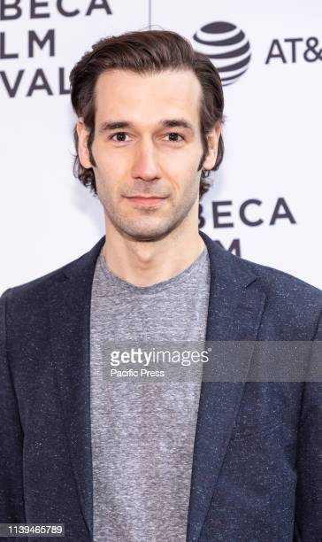 John Behlmann attends the Standing Up Falling Down premiere during 2019 Tribeca Film Festival at SVA Theater Manhattan