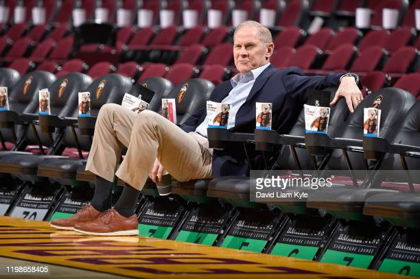 John Beilein of the Cleveland Cavaliers looks on before the game against the Toronto Raptors on January 30, 2020 at Rocket Mortgage FieldHouse in...