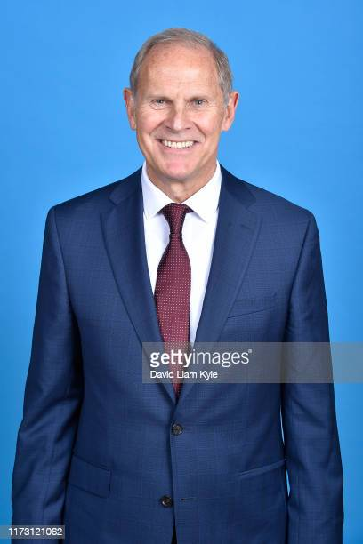 John Beilein of the Cleveland Cavaliers poses for a head shot on media day at Cleveland Clinic Courts on September 30 2019 in Independence Ohio NOTE...