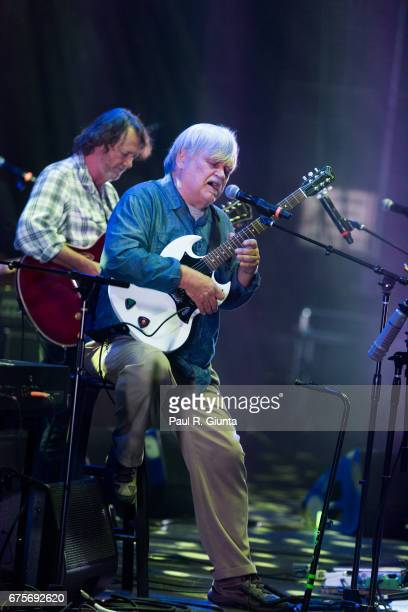 John Bell and Col Bruce Hampton perform on stage during Hampton 70 at The Fox Theatre on May 1 2017 in Atlanta Georgia